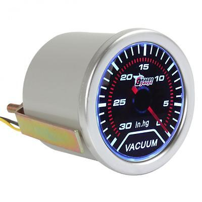 2Inch 52mm 0 to 30 IN.HG Vacuum Auto Car Meter Guage with Led Light Display 12V