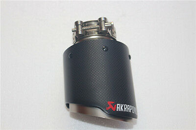 Akrapovic Exhaust Tips Muffler Pipe for Audi A1 A3 A4 A5 TT 63-101 mm