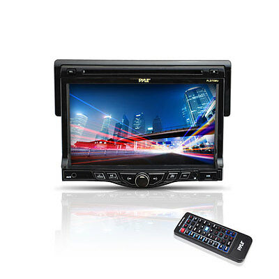 "New PLD75MU Car In Dash 7"" TFT Monitor With DVD USB SD AM/FM-RDS Radio Receiver"
