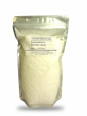 Stearic Acid - Fatty Acid for Soap, Candle, Shampoo, Cosmetics, Lotions, Creams