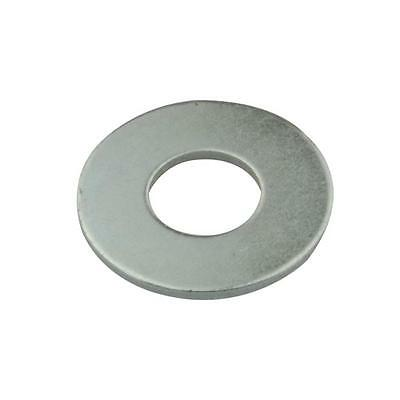 """Qty 100 Mudguard Washer 1/4"""" x 1.1/4 x 16g Imperial Steel Zinc Plated ZP Fender"""
