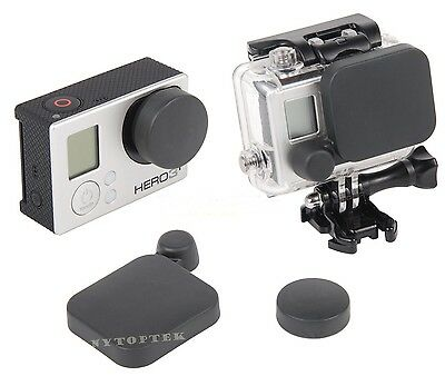 NEW Camera Lens Cap Cover Housing Case Protective for Gopro HD Hero 3+ 4 USA