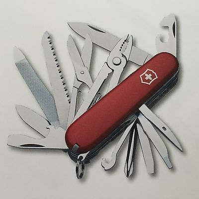 Swiss Army Knife, Craftsman, Red, Victorinox 53721, New In Box