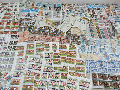 LJL Stamps: 30 World Wide Mint Never Hinged Stamps, with BONUS 1800s