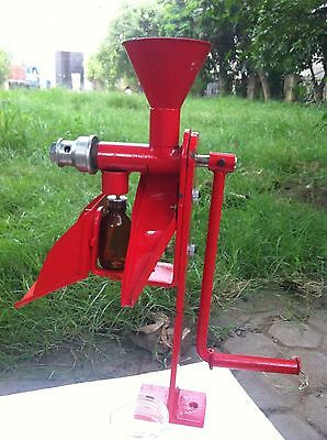 Heavy duty Nut & seeds Hand operated oil expeller/screw press with STAND