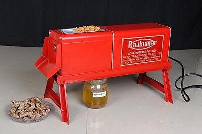 Heavy duty Nut & seeds electric oil expeller/screw press with STAND!!