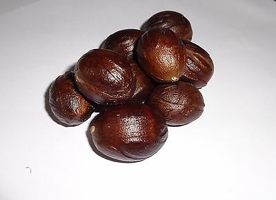 Whole Nutmeg, Grade A Quality, Organic Herbs & Spices Free Shipping 50g
