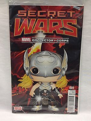 SECRET WARS #1 Marvel Collector Corps VARIANT FUNKO POP! Lady Thor August 2015