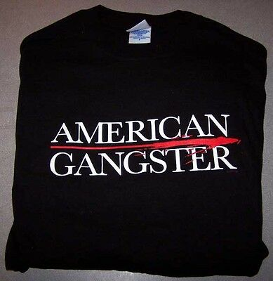 Russell Crowe AMERICAN GANGSTER promo T-Shirt