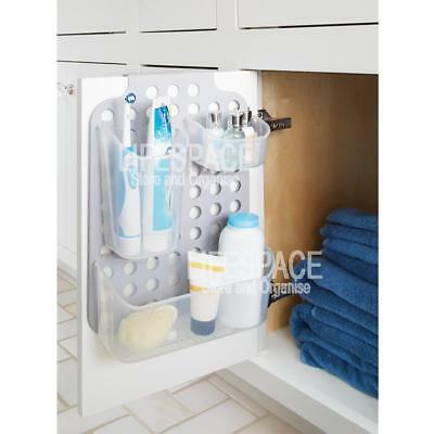 NEW Made Smart Hang It Organiser Over Cupboard Storage with Movable Baskets