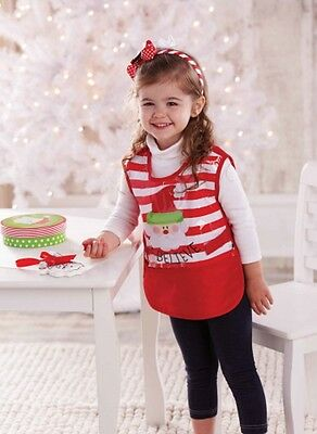 Mud Pie Unisex Santa I Believe Christmas Craft Smock and/or Apron