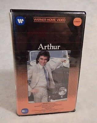 Arthur 1981 Betamax Beta Tape Movie W/ Clamshell Dudley Moore