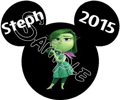 Personalized Disney Mickey Mouse Inside Out Cruise Stateroom Door Magnet B3G1F