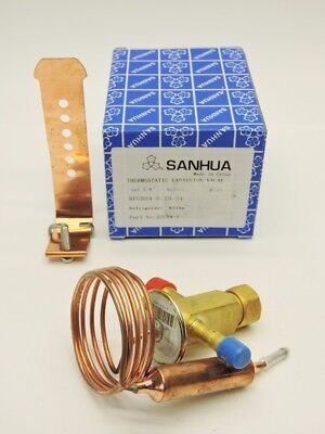 Sanhua 32024-1 RFG B04-0.23-34 Thermo Static Expansion Valve Out 3/8 Solder R134