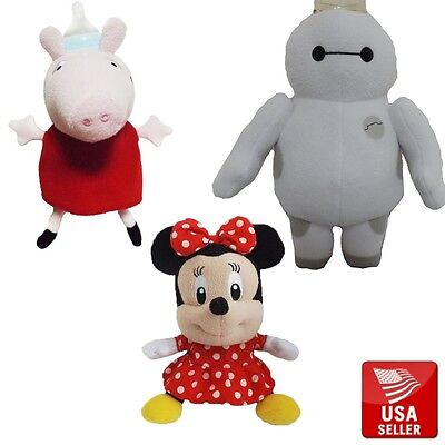Cute Animal Baby Bottle Feeder Cover Minnie Mouse Baymax Pig Piggy Cartoon