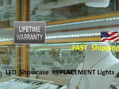 Showcase LIGHTS - 16ft LED Showcase Show Display Case Lighting Lifetime Warranty