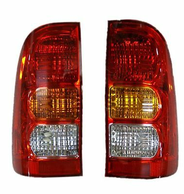 PAIR of CRYSTAL TYPE Rear Tail Lamps For L200 Pickup K74 2.5TD 96-07