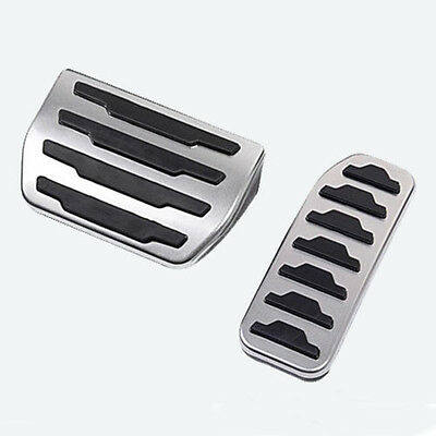 Foot Rest Fuel Brake Pedal Pad Cover Kit Range Rover Discovery Sport 2015 2016