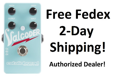 New Catalinbread Valcoder Tremolo Guitar Effects Pedal!