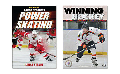 New Ice Hockey Skating Instructional Book and DVD - Free Shipping