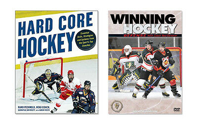 New Ice Hockey Instructional Book and DVD - Free Shipping