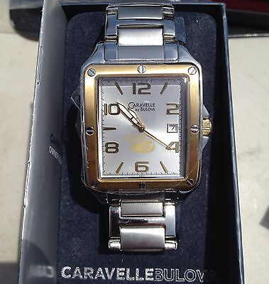 Caravelle by Bulova Watch with Harley Davidson EMPLOYEE ONLY LOGO -RARE