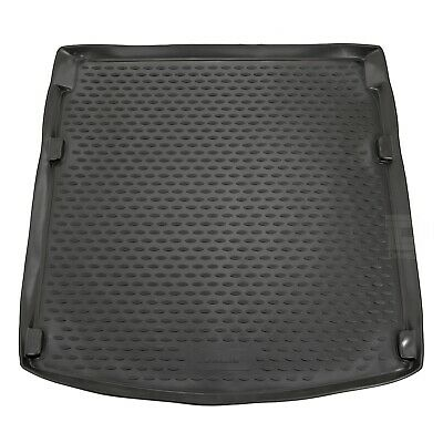 Audi A5 Coupe 07-16 Rubber Boot Liner Tailored Fitted Black Floor Mat Protector