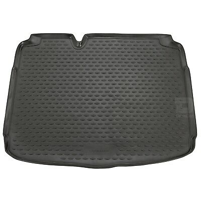 Seat Leon 07-13 Boot Liner Rubber Tailored Floor Protector Grip Mat Fitted Black