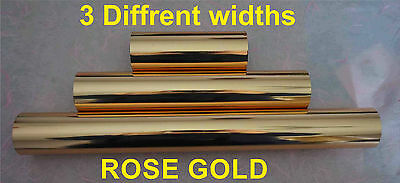 Rose Gold Toner Foil Craft Cards Laser Printer Heat Transfer Laminator Hot Foil