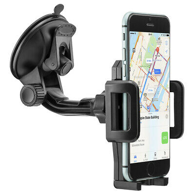 Auto KFZ Handy Halter Halterung Car Holder f Apple iPhone X 8 7 6S 6 Plus 5 SE