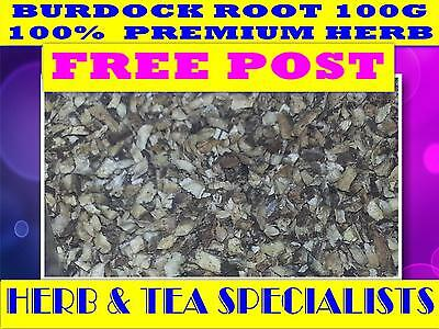 BURDOCK ROOT 100G ☆ PREMIUM WILDCRAFTED Arctium lappa ☆ DRIED HERB ☆ FREE POST