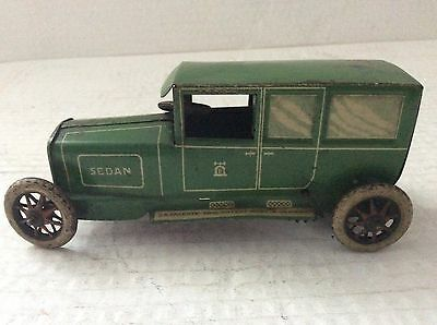 Lehmann Germany tinplate clockwork sedan