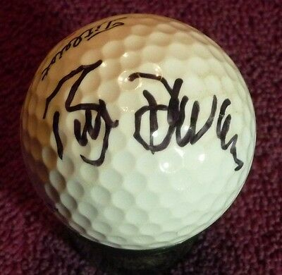 Actor William DeVane hand signed Titleist golf ball with COA