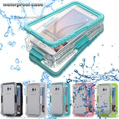 Waterproof Lifetime Shockproof Cover Case For Samsung Galaxy S7 S6 edge+/Note 5