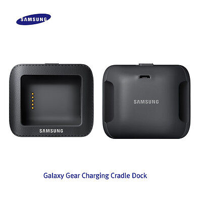 Genuine Samsung Galaxy Gear 1 Battery Charging Charger Dock Cradle Case Black