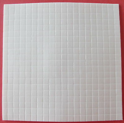 3D Double Sided Adhesive Foam Square Pads 5Mmx5Mmx2Mm Paper Tole Decoupage