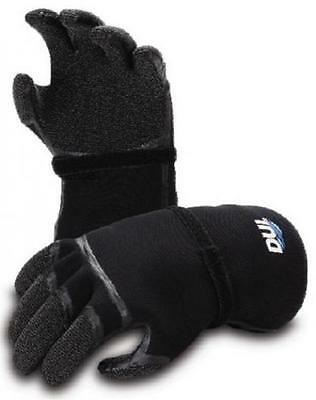 DUI Kevlar Zip Scuba Drysuit Gloves with Liners- Large