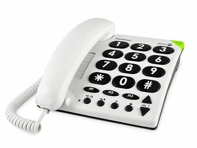 Doro PhoneEasy® 311C Big Button Phone Home Telephone Loud Senior