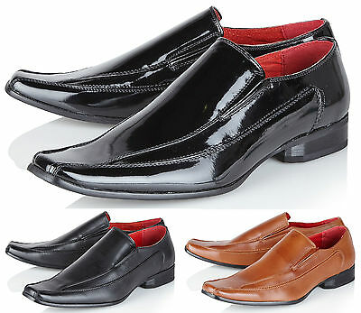 Giovanni Mens Smart Wedding Leather Lined Office Formal Casual Party Dress Shoes