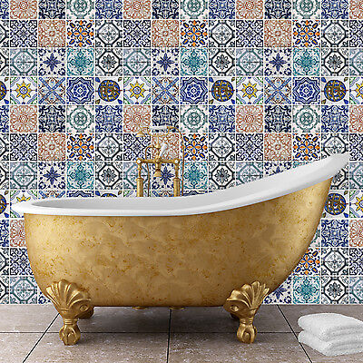 Mosaic Flexible Pattern Mural Wall Stickers Home Family Decoration 162cm x 162cm