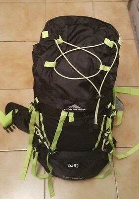 High Sierra Tangent 45 Multi-Day Backpacking Camp Hiking Backpack Bag Rucksacks