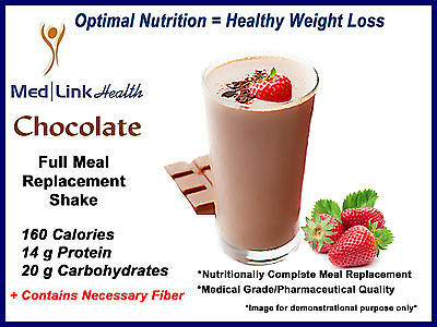 CHOCOLATE POWDER SHAKES Weight Loss   6 Boxes   SIMILAR TO Optifast® 800