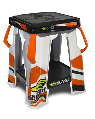 Cycra NEW Mx Special Edition Orange White KTM Motocross Dirt Bike Moto Stand