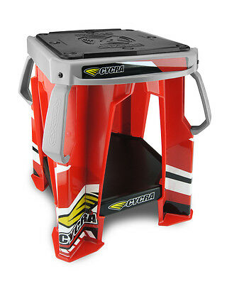 Cycra NEW Mx Special Edition Red Grey Honda Pit Motocross Dirt Bike Moto Stand