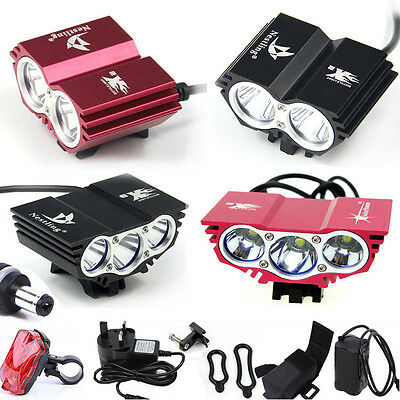U2 LED Mountain Bike Light SolarStorm Bicycle Cycle Torch Headlamp 5000/6200LM