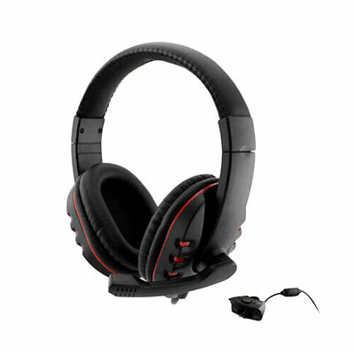 Gaming Headset Headphone With Mic For Xbox 360 Wireless Game Controller EA