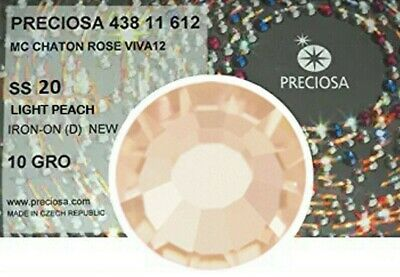 1440 Strass Termoadesivi Preciosa ss20/4.80mm - LIGHT PEACH