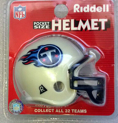 NFL Riddell American Football Pocket Traditional Helmet TENNESSEE TITANS