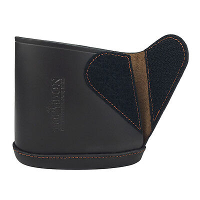 Tourbon Butt Stock Extension Holder Slip-on Recoil Pads Gun Real Leather Rifle
