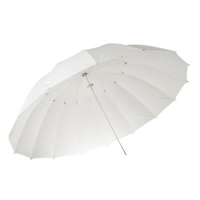 "PIXAPRO® Premium 71"" Translucent Soft White Umbrella (180cm) 8mm Shaft"